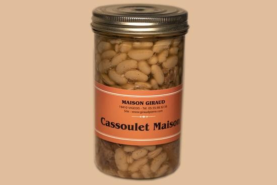 Cassoulet maison (bocal 900g)
