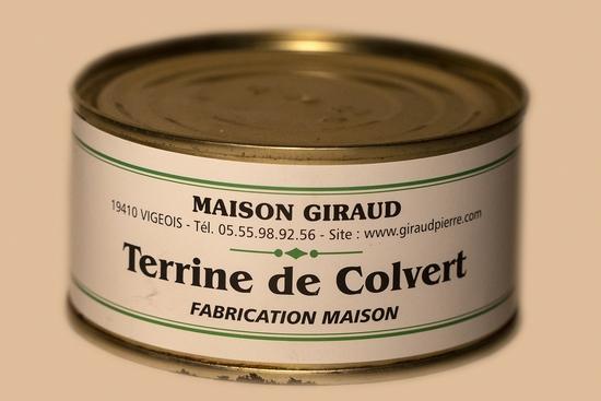 Terrine de Colvert (bte190g)