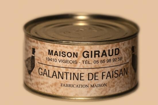 Galantine de Faisan (bte 130g)