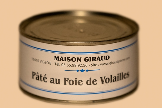 Pâté au foie de volaille (bte 130g)