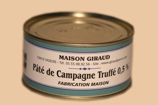 Pâté de campagne truffé (bte 130g)