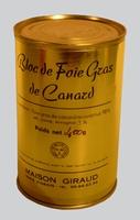 Bloc de foie gras de canard ( bte 400g )