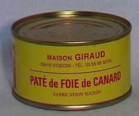 Pâté de foie de canard ( bte 190g )