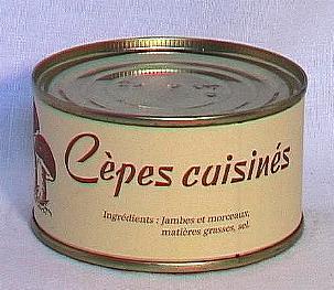 Cèpes cuisinés ( bte 100g )
