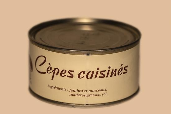 Cèpes cuisinés ( bte 200g )